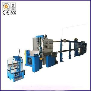 2Hp Power Twin Layers Chemical Foaming Extrusion Line Machine