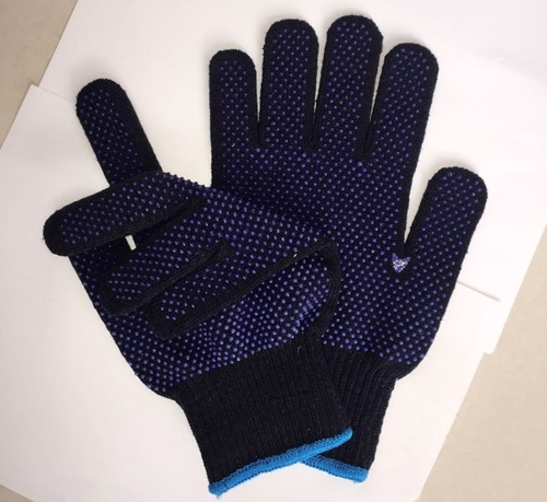 Customized PVC Dotted Glove