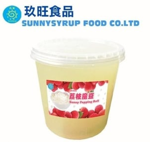 Topping Popping Ball Lychee Flavor