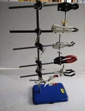 Boss Head Clamps And Laboratory Stand