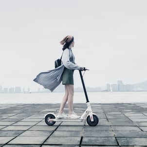 8.5-inch Big Wheel Foldable Scooter
