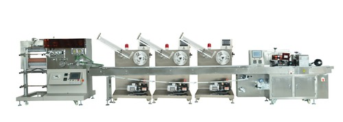 Paper Knife Fork And Spoon Cutlery Automatic Packing Machine