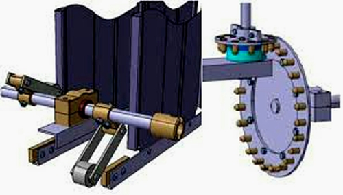 Pin Wheel For Industrial Use