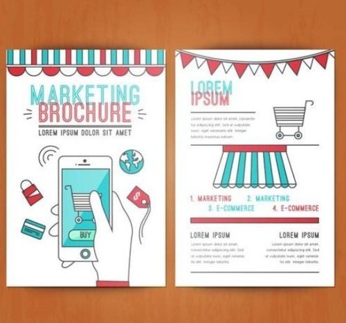 Flier And Brochure Marketing (Paper Pamplets) Service