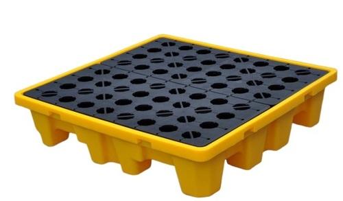 PE Spill Containment Pallet-4 drum Spill pallet