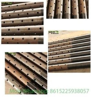API 5CT Stainless Carbon Steel Perforated Pipe for Casing Pipe