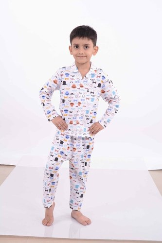 Kids Cotton Night Suits