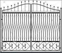 Attractive Heavy Main Gate