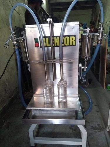 Liquid Milk Bottle Filling Machine