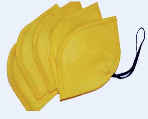 Yellow Color Nose Mask