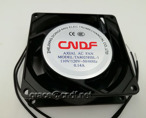 80X80X25Mm Ac Axial Cooling Fan Ta8025Hsl-2 Air Volume: 17/21  Ft3/Min (Cfm)