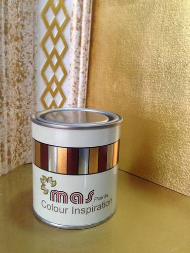 Mas Gold Paint For Glossy Finish