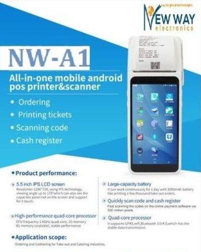 Handheld POS Device (NW-A1) - New Way Electronics, Plot no