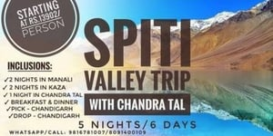Spiti Valley Trip Packages