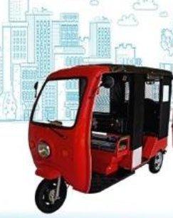Electric Battery Passenger Rickshaw (Yuva)