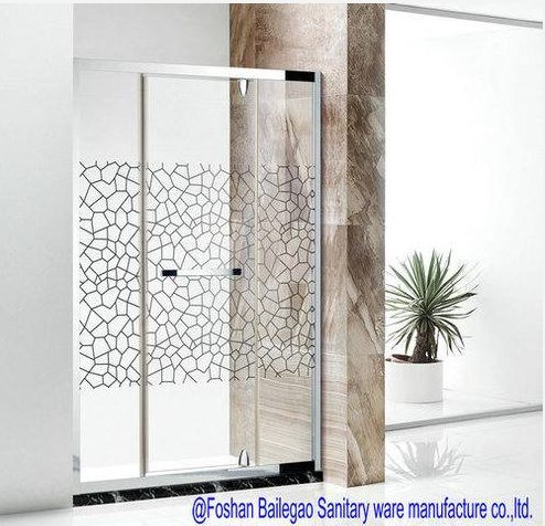Aluminum Frame Glass Corner Shower Room Certifications: Iso9001:2000