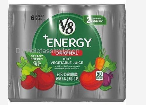 V8 +Energy 100% Vegetable Juice