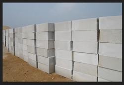 Heavy Duty Cement Blocks Length: 24 Inch (in)