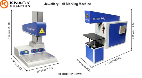 Laser Jewellery Hallmarking Machine