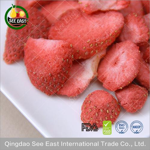 lyopilized Fruit Freeze Dried Strawberry
