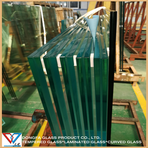 6+6 Tempered Laminated 17..52Mm 21.52Mm Toughened Laminated Glass Certifications: Ce