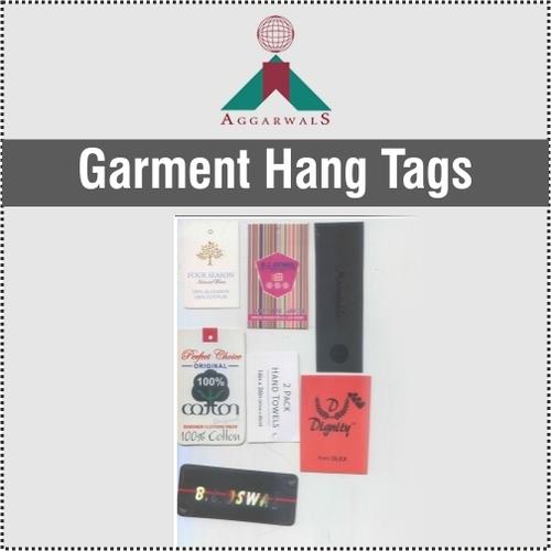 High Grade Garment Hang Tags