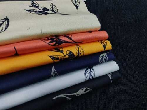 Plain And Printed Fabric