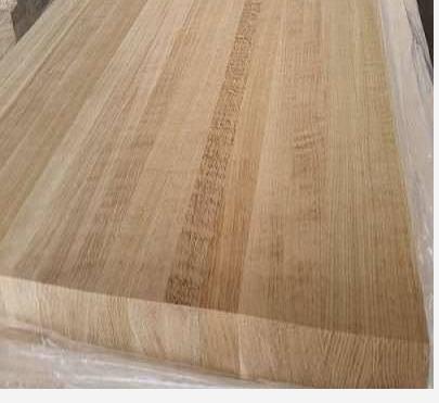 White Oak Wood Edge Glued Panel