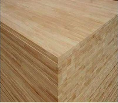 Light Steam Beech Wood Edge Glued Panel For Wood Table Top
