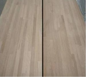 Rubber Wood Edge Glued Panel As Stair Parts