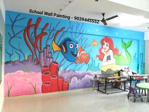 Nursery School Wall Painting Services