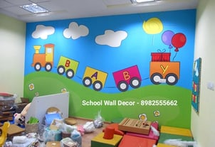 Play School Wall Painting Service