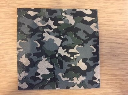Camouflage Foils For Leather