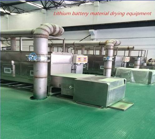 Tunnel Microwave Chemical Product Drying Machine