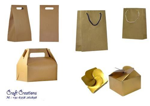 Kraft Paper Bags & Box