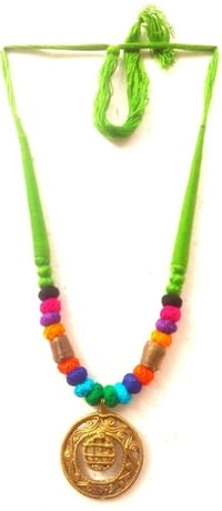 Handcrafted DOKRA Necklace