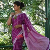 Fancy Pattern Linen Sarees