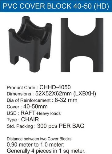 Pvc Cover Block Chhd40-50 Mm