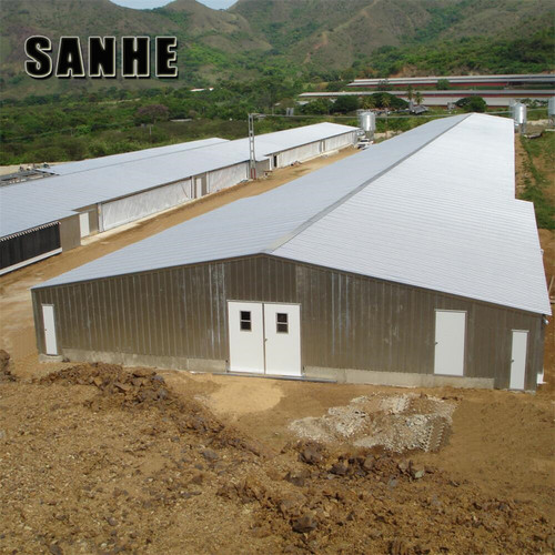Low Cost High Quality Poultry House Design For Layers In Kenya Farm