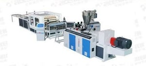 PVC+ASA Roofing Production Line