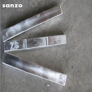 Zinc Anodes 99.99 % For Electroplating