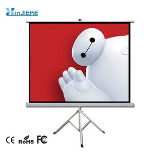Portable Tripod Projection Projector Screen