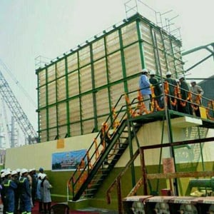 300 Tr Natural Draft Cooling Tower