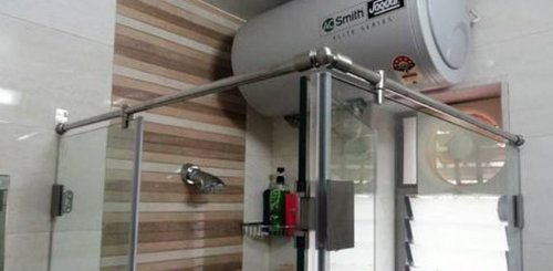 Tempered Glass Shower Panel