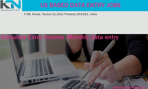 USA Home Based Data Entry Jobs in 11-Sector, Noida - Kenil Network