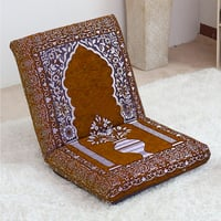 Relaxing Buddha Meditation And Yoga Floor Chair With Memory Foam Seat Cushion