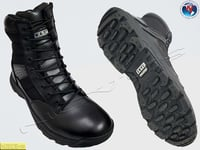 Durable Black Driving Boot