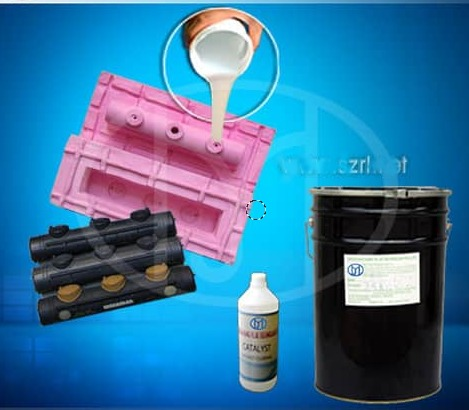 High Tear Strength RTV Silicone Rubber For Making Plastic