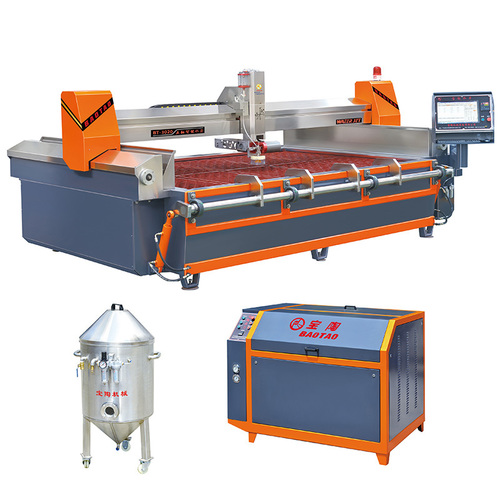 Gantry Abrasive Water Jet Cutting Machine 5 Axis Cnc Router