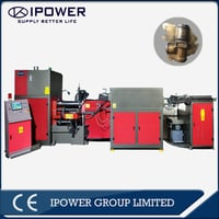 High Efficient Horizontal Hot Forging Press For 3 Way LPG Valve